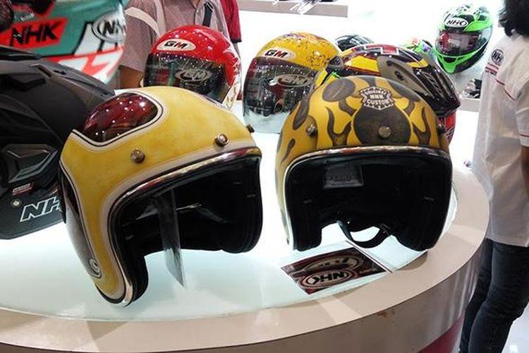 Helm NHK Bubble custom, khusus konsumen yang ingin tampil beda
