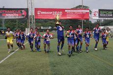 Tim Sepak Bola Muda Indoensia Pertahankan Gelar Juara Singa Cup
