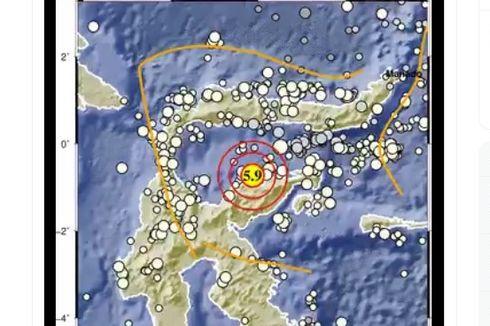 Gempa Hari Ini: M 5,9 Guncang Sulawesi Tengah Terasa Hingga Palu