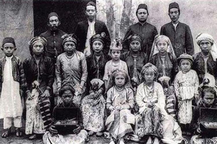 Masyarakat Bawean Singapura 1910, Foto: Wikipedia.org
