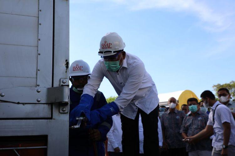 Berantas ODOL, Kemenhub potong 2 truk ODOL di Aceh