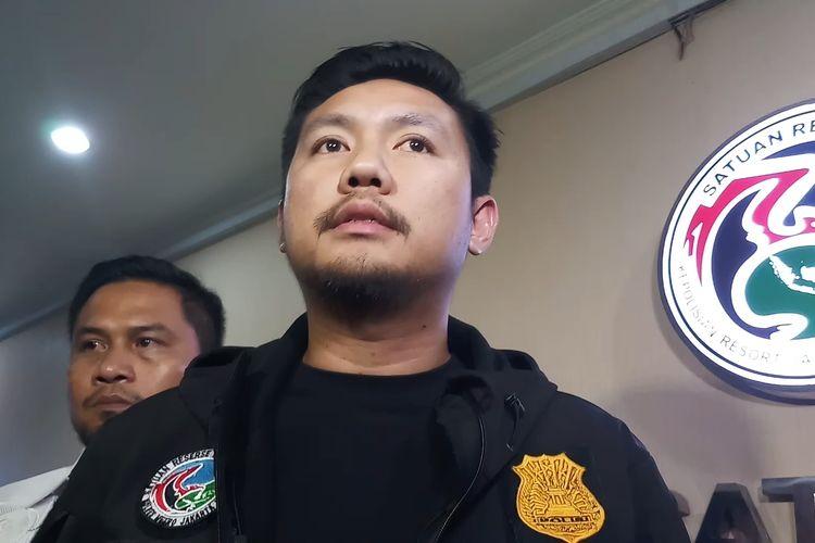 Kepala Unit II Satresnarkoba Polres Metro Jakarta Barat, AKP Alan  Maulana Mukarom di Polres Jakarta Barat, Selasa (11/2/2020).