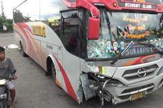 Bus Tabrak Motor di Jalan Surabaya-Madiun, Pengendara Roda Dua Tewas