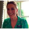 Kate Middleton Tampil Segar dalam Gaun Motif Tenis