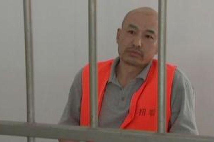Zhang Lidong salah seorang anggota sebuah aliran sesat di China yang dihukum mati setelah dinyatakan bersalah membunuh seorang pria di sebuah restoran McDonald's.