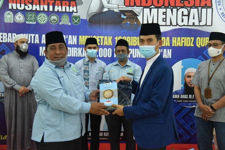 BKPRMI menggelar kegiatan Pemuda Indonesia Mengaji di Masjid Muwahiddin Kementerian Pemuda dan Olahraga (Kemenpora) RI