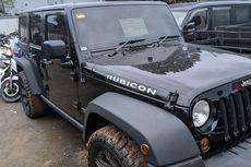 Mobil Rubicon Sitaan dari Koruptor Terjual Rp 682 Juta Saat Lelang