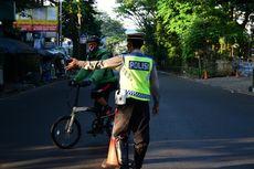 Hari Kedua PPKM Darurat, Polisi Putar Balik Pesepeda di Kota Bandung