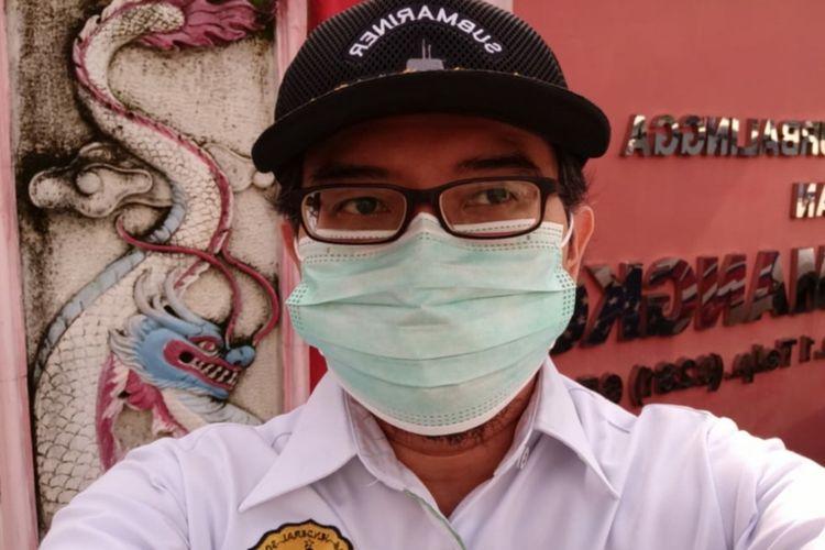 Ahli Epidemiologi Lapangan Fakultas Kedokteran Universitas Jenderal Soedirman (Unsoed) Purwokerto dr Yudhi Wibowo