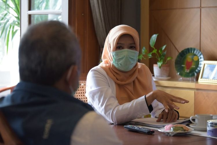 Kepala Badan Pengelolaan Keuangan dan Aset Daerah (BPKAD) Provinsi Jabar Nanin Hayani Adam.