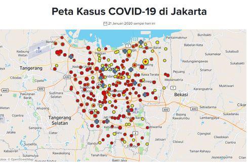 UPDATE Covid-19 di Jakarta: 566 Orang Positif, 31 Sembuh, 57 Meninggal Dunia