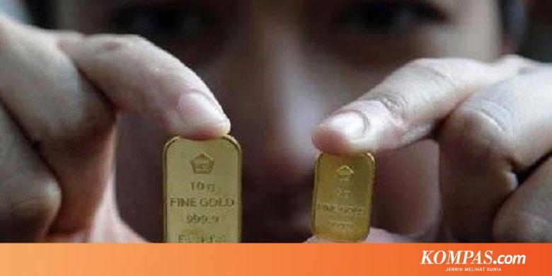 ANTM Harga Emas Antam Hari Ini Naik Rp 3.000