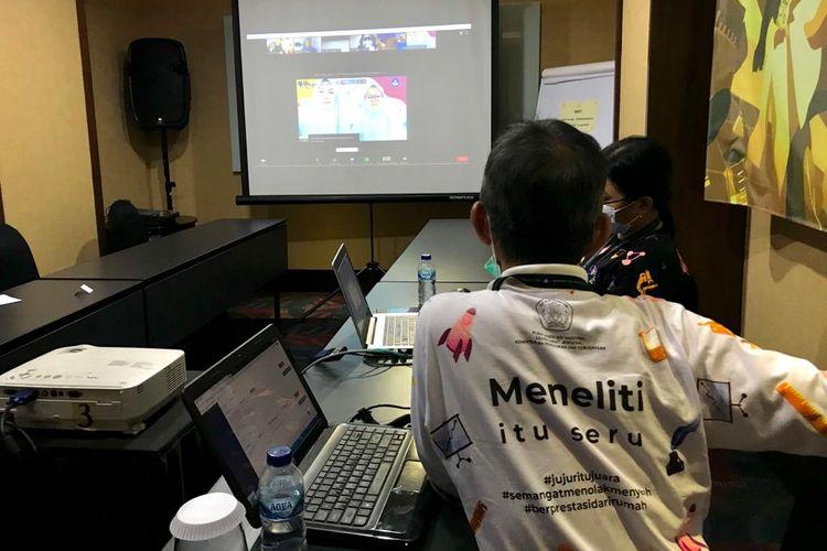 Kompetisi Penelitian Siswa Indonesia atau KOPSI 2020 yang digelar secara daring 2-7 November 2020 diikuti 1.740 proposal penelitian dari siswa Indonesia.