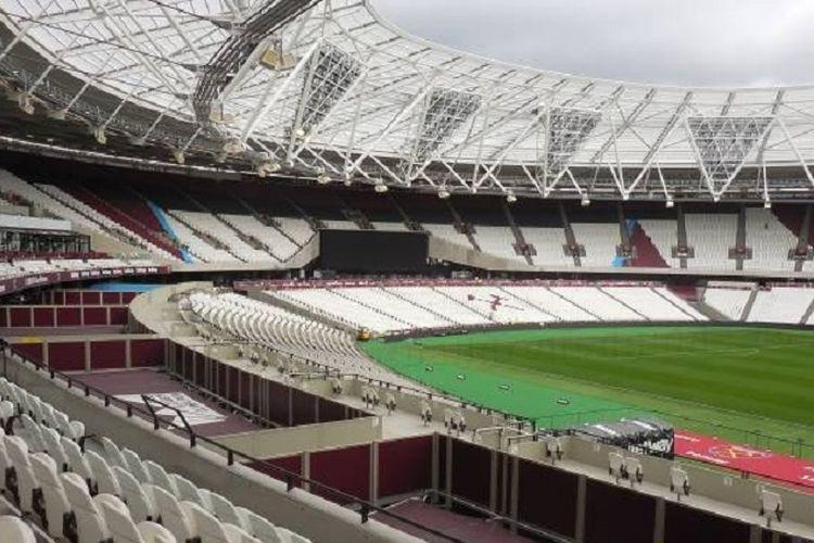 Stadion Olimpiade London yang kini menjadi kandang West Ham United.