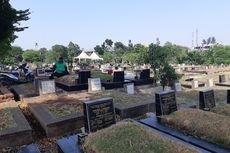 Jelang Natal dan Tahun Baru, TPU Joglo Dibenahi untuk Peziarah
