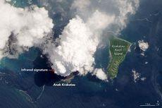 Letusan Anak Krakatau Terlihat dari Luar Angkasa, Ini Fotonya