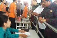 Bandara Ditutup, Wagub Bali Tinjau Kondisi Calon Penumpang