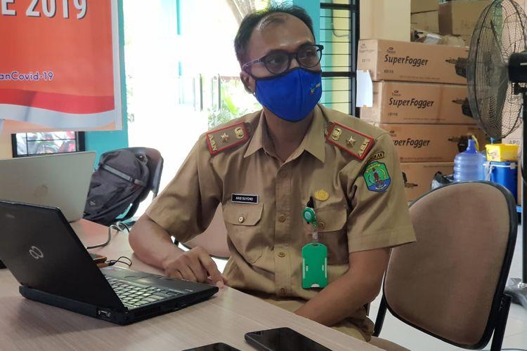 Jubir Satgas Percepatan Penanganan Covid19 kabupaten Nunukan Aris Suyono