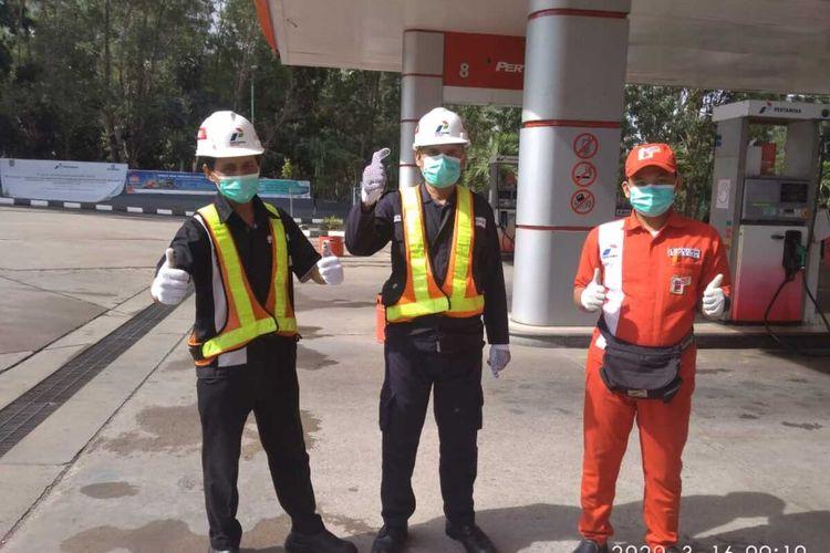 Pertamina meningkatkan kewaspadaan dan kesiapan pekerjanya menghadapi virus corona atau Covid-19. Salah satunya dengan membentuk tim task force pencegahan infeksi Covid-19 dibawah pimpinan Direksi Pertamina, Selasa (17/3/2020)