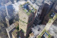 Perusahaan Jepang Akan Bangun Gedung Tertinggi di Dunia Berbahan Kayu