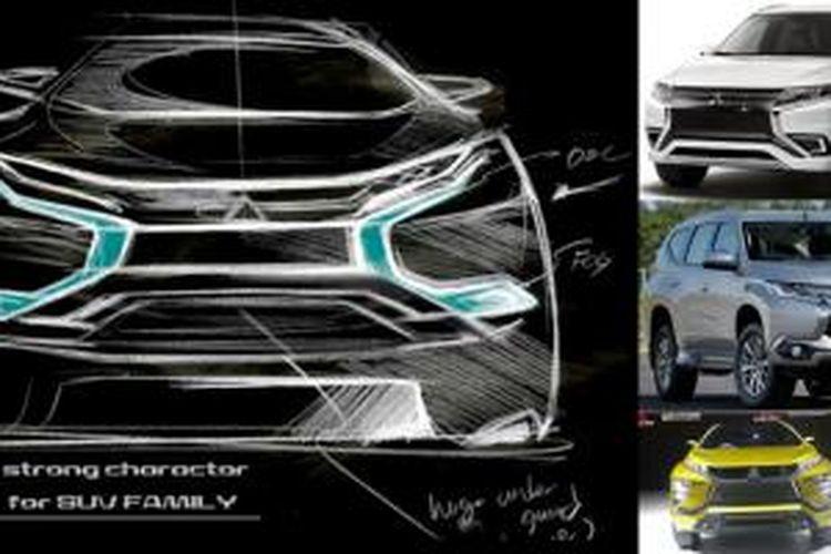 Perkembangan bahasa desain baru Mitsubishi Dynamic Shield.