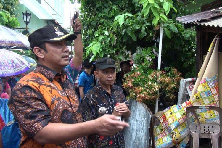 Wali Kota Semarang Bantu Korban Rumah Roboh Akibat Hujan Lebat