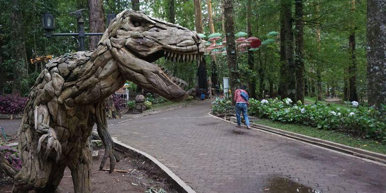 Mojosemi Forest Park di Kabupaten Magetan, Jawa Timur, Rabu (23/1/2019).