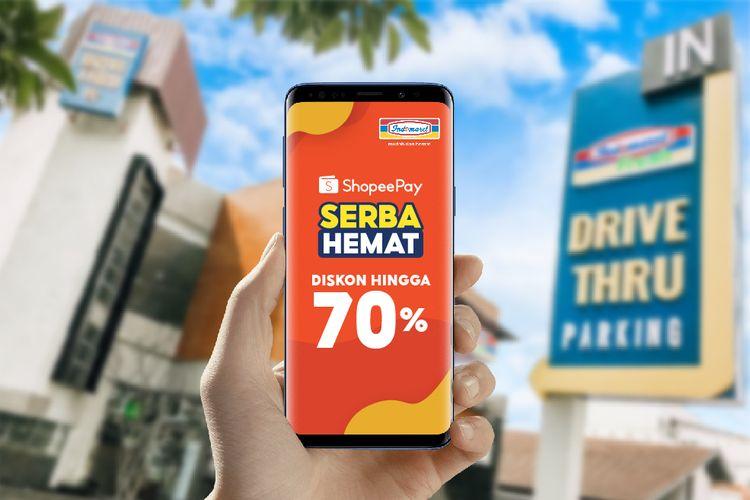 Pembayaran ShopeePay kini bisa dilakukan di Indomaret.