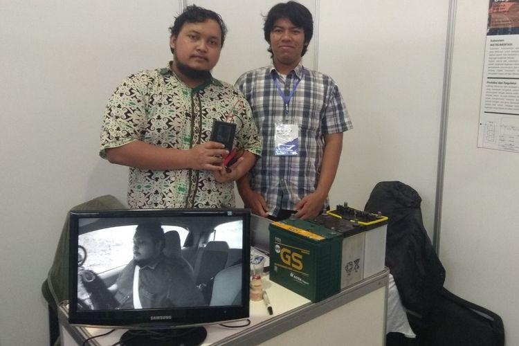 Mahasiswa Institut Teknologi Bandung (ITB) terus yang menciptakan alat untuk mendeteksi kondisi aki mobil.