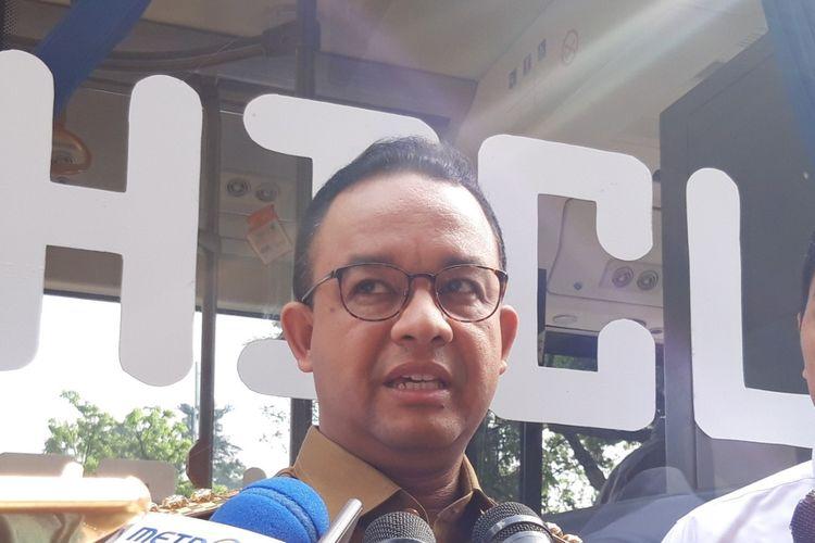 Gubernur DKI Jakarta Anies Baswedan, Senin (29/4/2019)