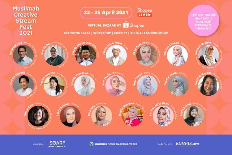 Muslimah Creative Stream Fest 2021.
