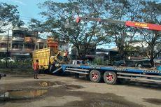 Diduga Ngantuk, Sopir Truk Tewas Hantam Parit di Aceh Utara