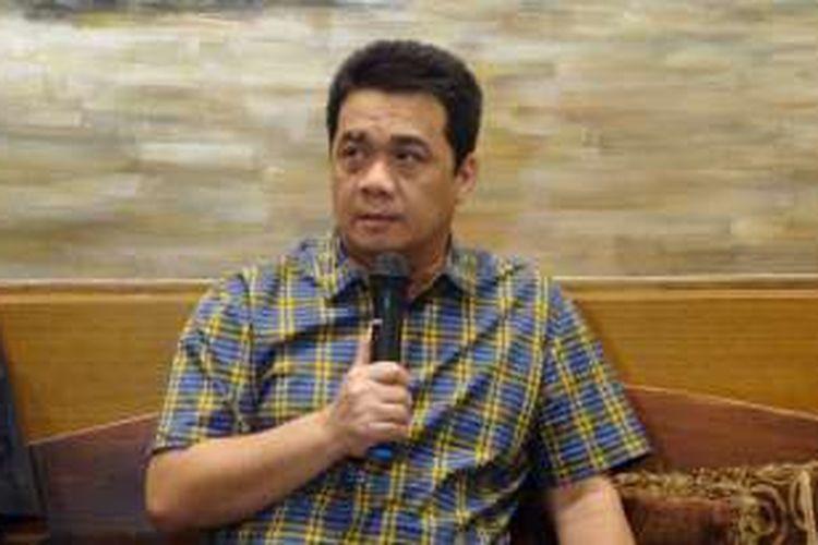 Wakil Ketua Komisi II DPR RI Ahmad Riza Patria dalam diskusi di Jakarta, Minggu (22/5/2016).