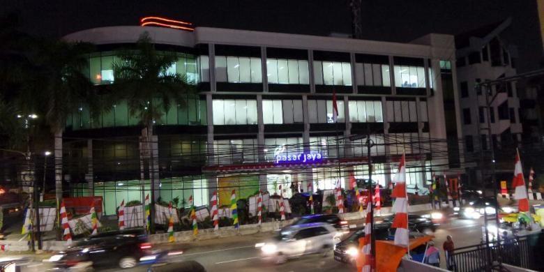Gedung baru PD Pasar Jaya di Jalan Cikini Raya, Menteng, Jakarta Pusat.