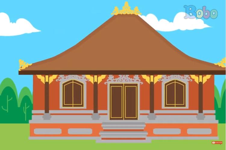 [Tangkapan Layar] Rumah Adat Bali