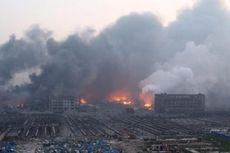 Petugas PMK Tianjin Selamat meski Tertimbun Reruntuhan Selama 32 Jam