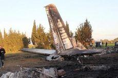 Pesawat Angkut AU Libya Jatuh di Tunisia, 11 Tewas