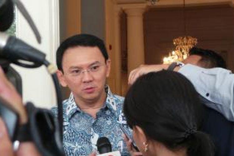 Gubernur DKI Jakarta Basuki Tjahaja Purnama di Balai Kota, Jumat (25/9/2015).