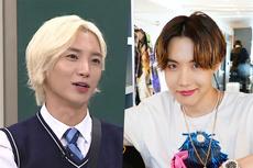 Bersahabat, Leeteuk Dapat Hadiah Album Baru BTS dari J-Hope