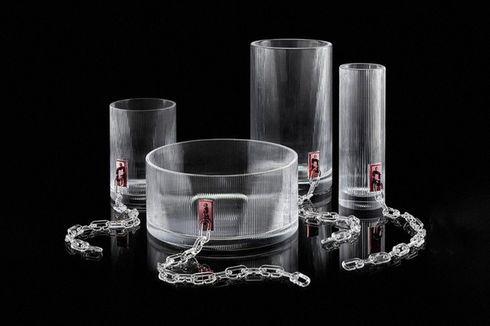 Gelas Kristal Rancangan Desainer Virgil Abloh, Berapa Harganya?