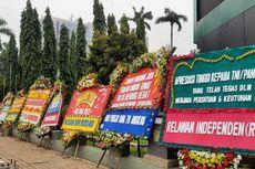 6 Serbuan Karangan Bunga di Ibu Kota, Dukungan untuk Pangdam Jaya hingga Ahok-Djarot