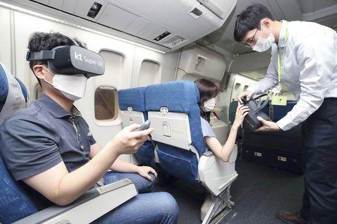 Bakal Ada Layanan VR di Pesawat Korea, Seperti Apa?