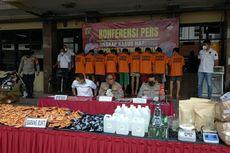 Polisi Juga Gerebek Pabrik Rumahan di Bandung, Total Tembakau Sintetis Disita 185 Kilogram