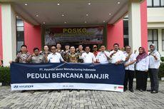 Hyundai Motor Bantu Korban Banjir di Kabupaten Bekasi