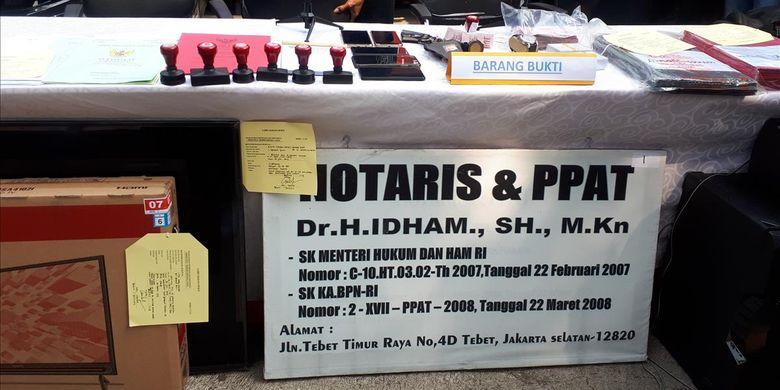 Sindikat Penipu Sasar Penjual Rumah Mewah Pakai Nama Notaris