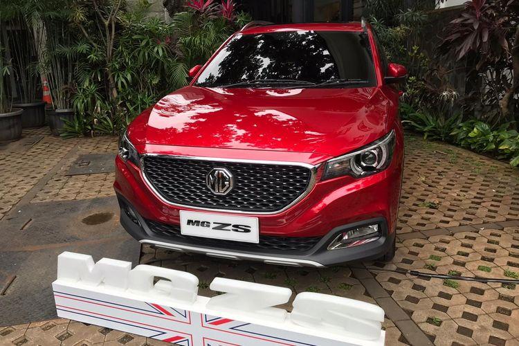 MG ZS bakal segera dikenalkan ke pasar Indonesia