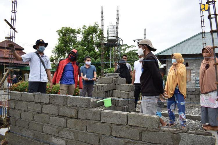 Pelaksanaan Program Bantuan Stimulan Perumahan Swadaya (BSPS).