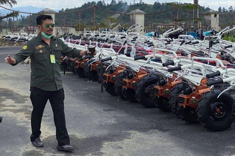 Kunjungan kerja SYL di Humbahas, Sumatera Utara (Sumut), Jumat (11/9/2020).