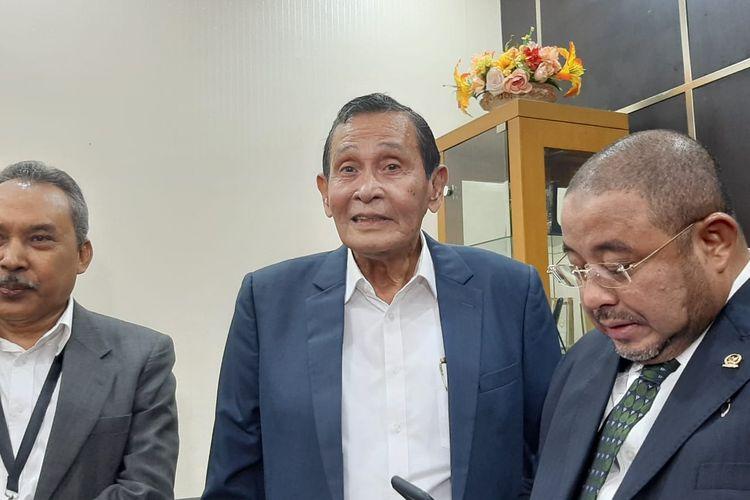 Ketua Dewas KPK Tumpak Panggabean di DPR, Senayan, Jakarta, Senin (27/1/2020).
