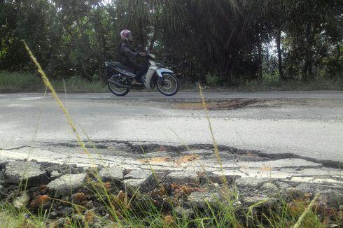 Jelang Mudik, Jalan Rusak di Kalimantan Timur Tak Kunjung Diperbaiki